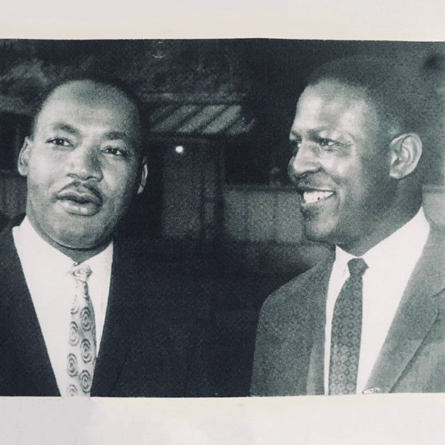 Charles Willie with Martin Luther King Jr.